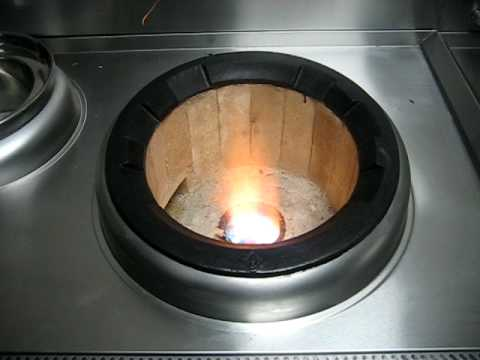 how to connect high pressure gas wok burner