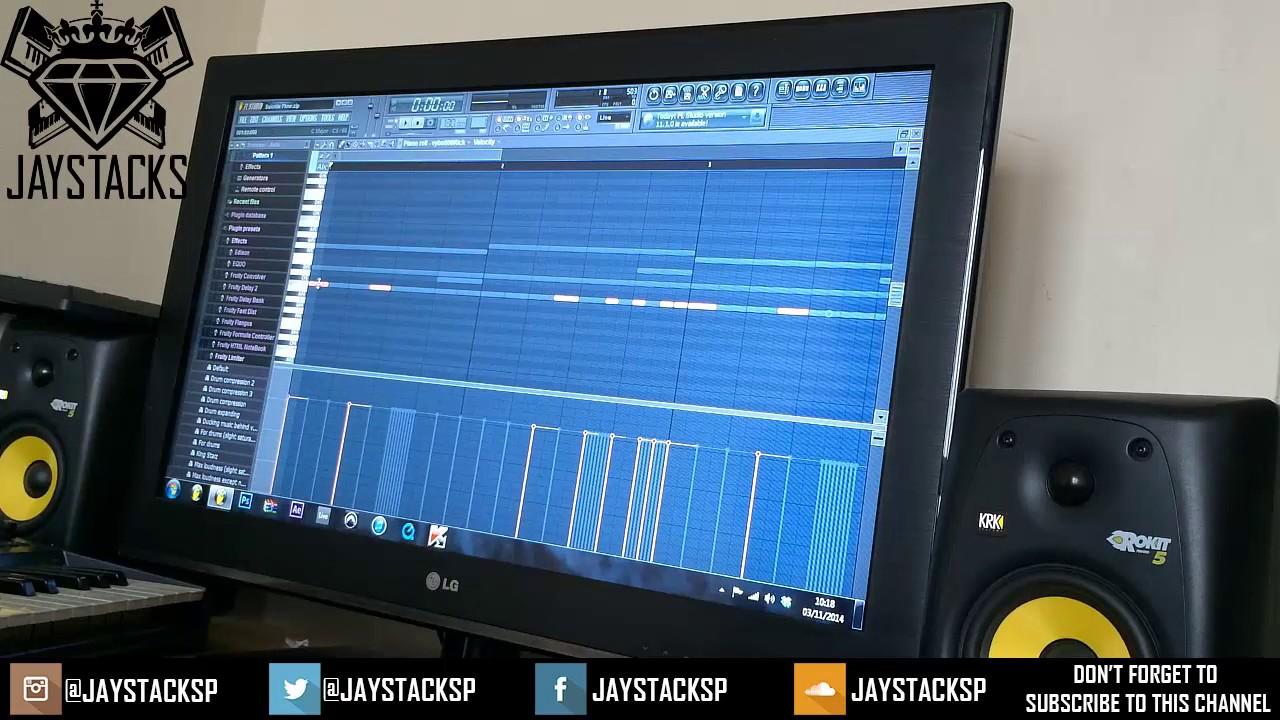 how to make a trap drop fl studio