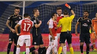 Top Funniest Red Cards in Football History