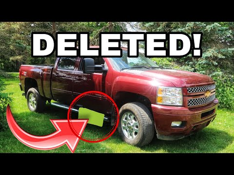 How to Remove a DEF Tank on a Duramax LML *EASY*