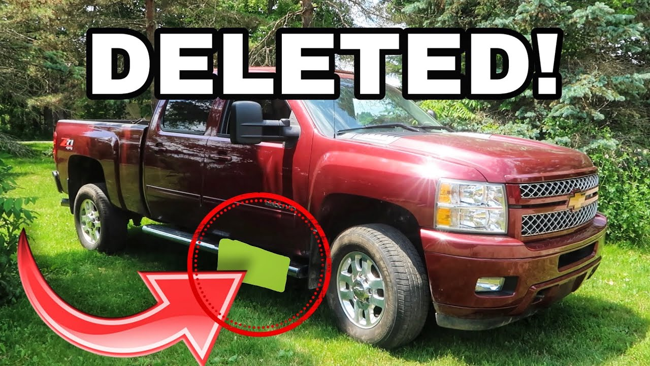 Duramax Def Delete >> How To Remove A Def Tank On A Duramax Lml Easy