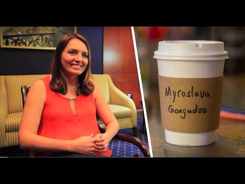 Coffee with Myroslava Gongadze - Journalist