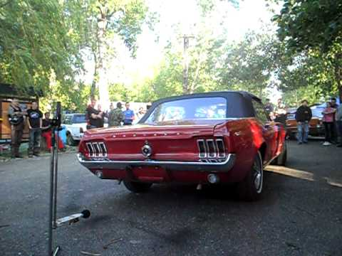 Ford Mustang First generation V8 Sound