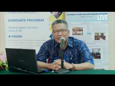 OSMB Pascasarjana Universitas Terbuka 14 Agustus 2017