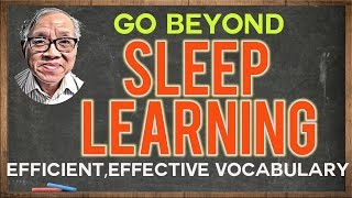 Beyond Sleep Learning - Easier Ways to Remember Vocabulary