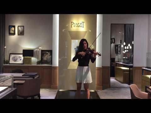 Ave Maria. Franz Schubert. Piaget store concert.