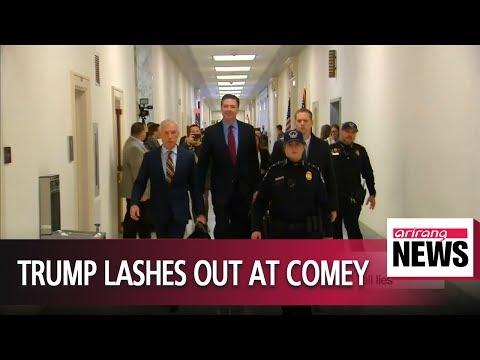 "Trump calls ex-FBI chief James Comey's testimony ""all lies"""