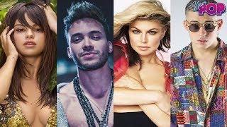 Download Video Selena Gomez, Bad Bunny, Fergie & Prince Royce en Mala MP3 3GP MP4