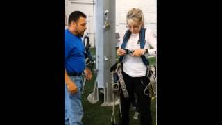 Daily Inspection of a tower climbing harness