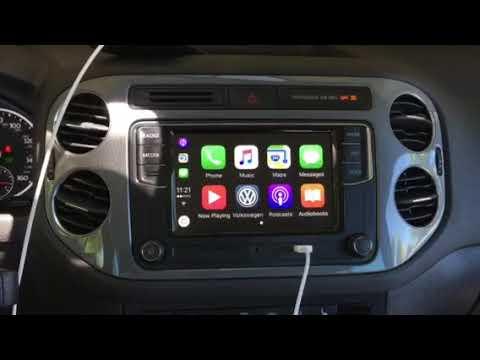 2014 vw tiguan with Apple CarPlay