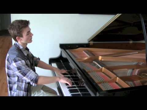 Ed Sheeran: Thinking Out Loud (Elliott Spenner Piano Cover)