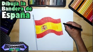 Video Cómo dibujar y pintar la bandera oficial de España download MP3, 3GP, MP4, WEBM, AVI, FLV Juli 2018
