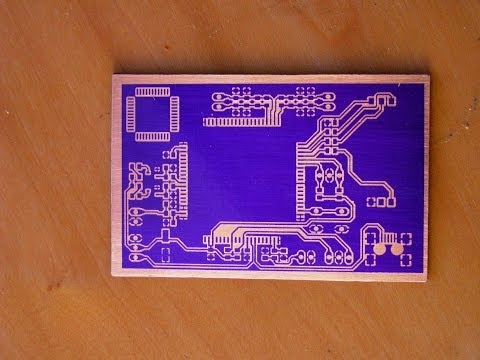 How to make PCB using Photoresist Dry Film