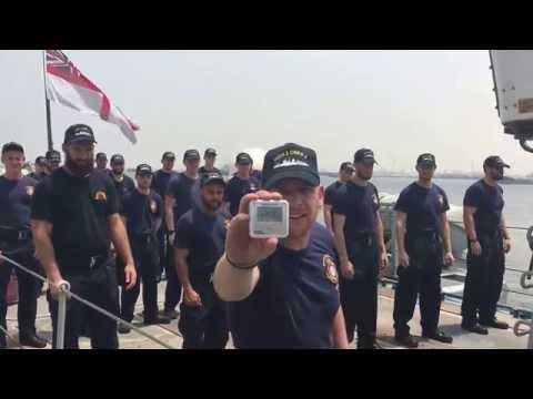 HMS Middleton's 22 push up challenge