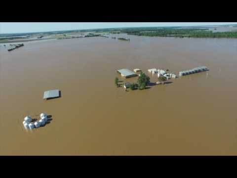 Browns Farm Current River Flood 2017