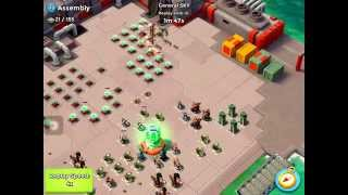 Boom Beach | Assembly destroyed by matador and General SKY | Beyaz Marti #Y8V89GQ