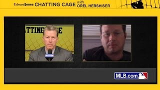 Chatting Cage: Hershiser answers fans' questions(Former Dodgers pitcher Orel Hershiser answers questions from fans in the Chatting Cage Check out http://m.mlb.com/video for our full archive of videos, and ..., 2014-05-17T00:51:52.000Z)