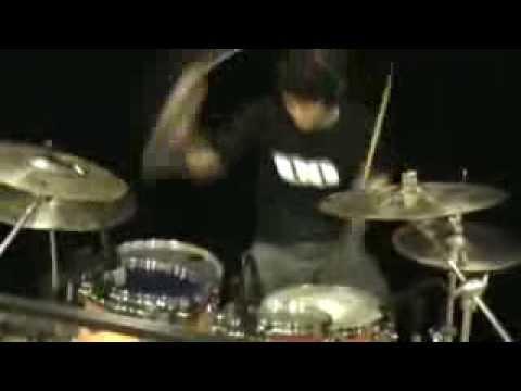 Andri dari karawang audition Drummer additional Angkasa