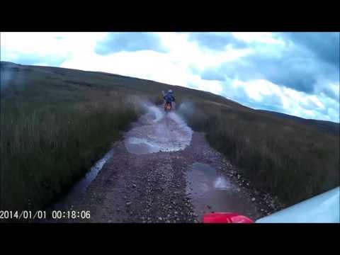 Salters fell CRF250L 06/08/17