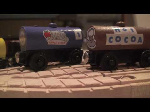 Milktankermedia S Wooden Railway Customs Youtube
