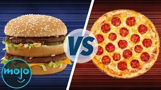 Best Food: Pizza Vs Burgers