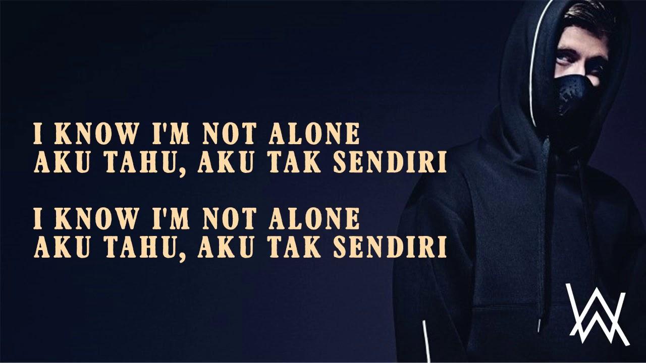 艾倫沃克alone 不孤單 電音 [ 動態歌詞 ] alan walker alone 艾倫沃克Alone不孤單 抖音 [ 動態歌詞 ] - YouTube