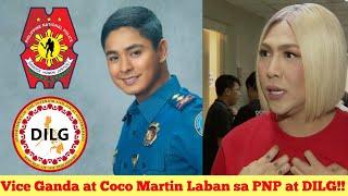 Vice Ganda Ipinagtanggol si Coco Martin Laban sa PNP at DiLG.