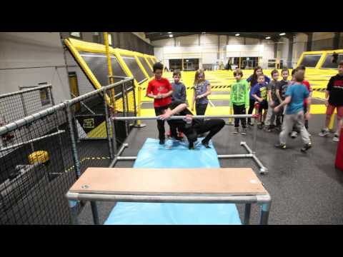 Parkour Practice at Go Air!