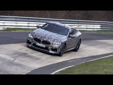 2019 BMW M8 - Exhaust SOUNDS On The Nurburgring!