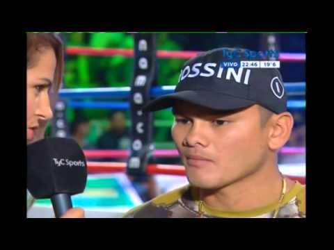 Chino MAIDANA Interview - 20 Feb 2015