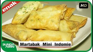 Cara Membuat Martabak Mini Indomie - Resep Masakan Indonesia  Recipes Cooking Bunda Airin