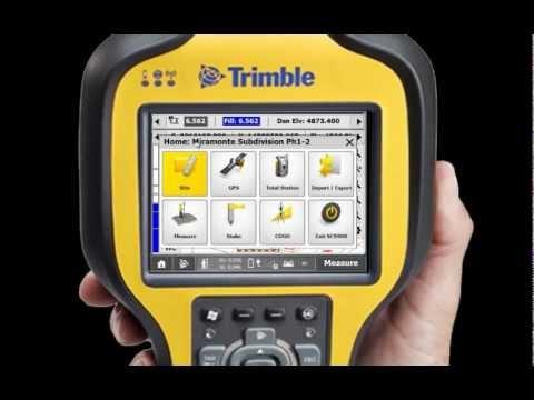 Trimble scs900 инструкция