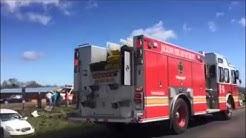 I-20 West Crash Involving Car and Dump Truck in Jackson, Mississippi 02222017 01