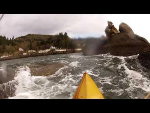 Kayaking the 3 Graces in Tillamook Bay