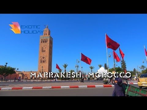 Marrakesh, Morocco 4K travel guide bluemaxbg.com