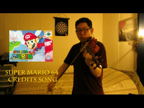 Super Mario 64 Violin Cover - Credits Song (Tribute to Mr. Iwata)