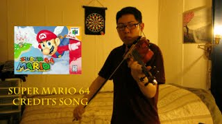 super mario 64 violin cover credits song tribute to mr iwata