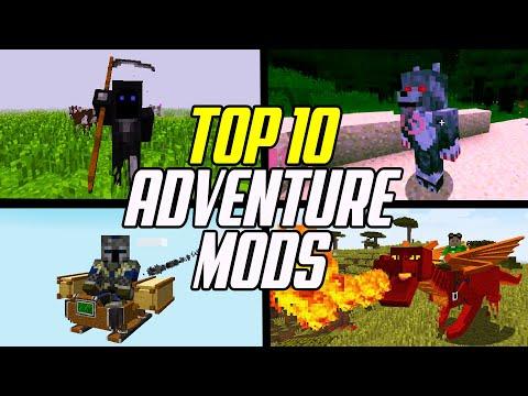 Top 10 Minecraft Adventure & RPG Mods