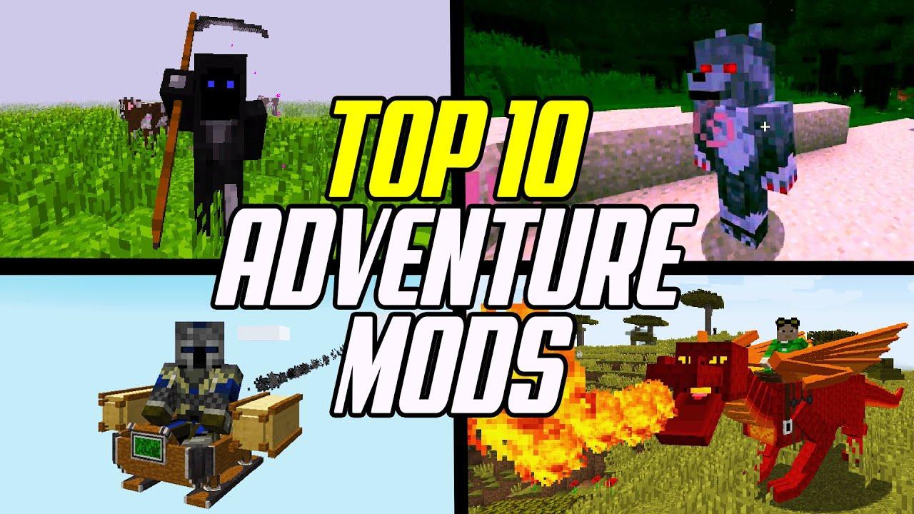 Top 9 Minecraft Adventure & RPG Mods