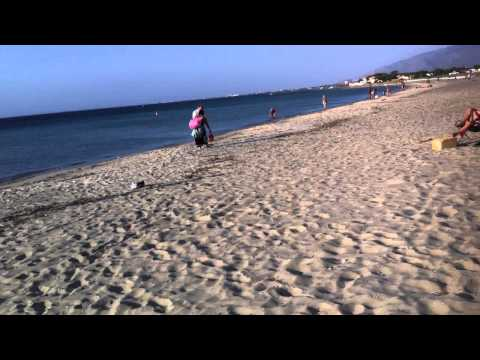 Travel to the beach in Sicily Sicilia