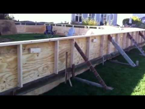 Henry Backyard Rink Building 2011   YouTube