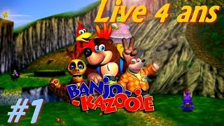 [Rediff Live 4 ans] Banjo-Kazooie 100% ? [1] Boudin Remastered