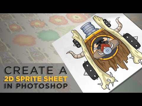Photoshop Top Tip: Create a Sprite Sheet for Your Own 2D