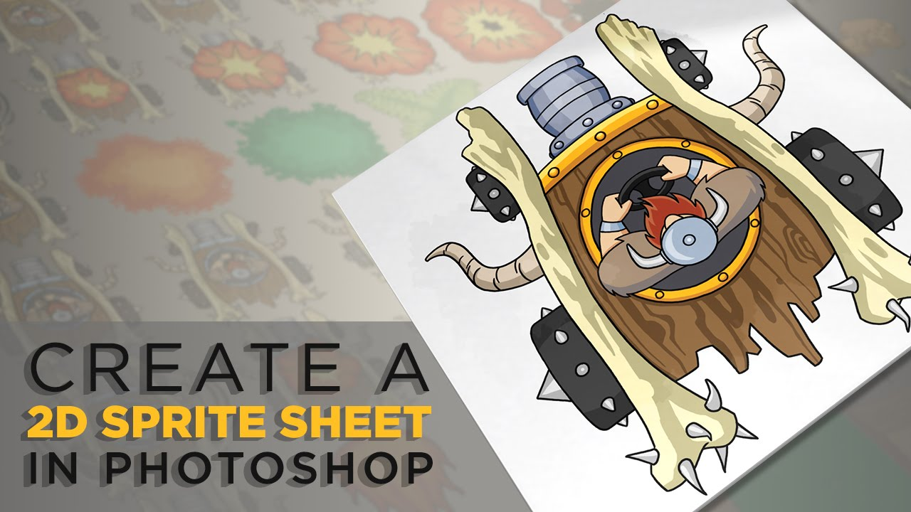 Photoshop Top Tip: Create a Sprite Sheet for Your Own 2D Game