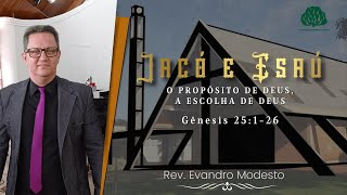 Culto a noite - 11/07/2021 - Rev. Evandro Modesto