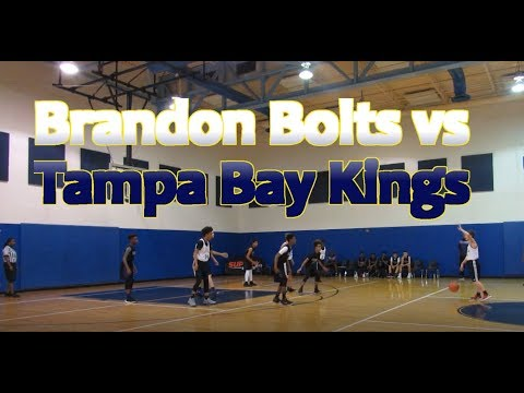 Friday Night Super 6 Brandon Bolts vs Tampa Bay Kings Basketball
