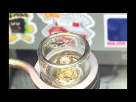 How To Dab On A Quartz eNail – HUGE Dabs Of Grape Clear Concentrate On An eBoss XL Kit! DabFarm.com