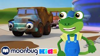 5 Muddy Trucks | Geckos Garage | Song Compilation | Nursery Rhymes & Kids Songs