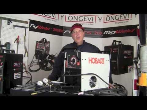 HOBART EZ TIG 165i ACDC TIG WELDER REVIEW - PART 1