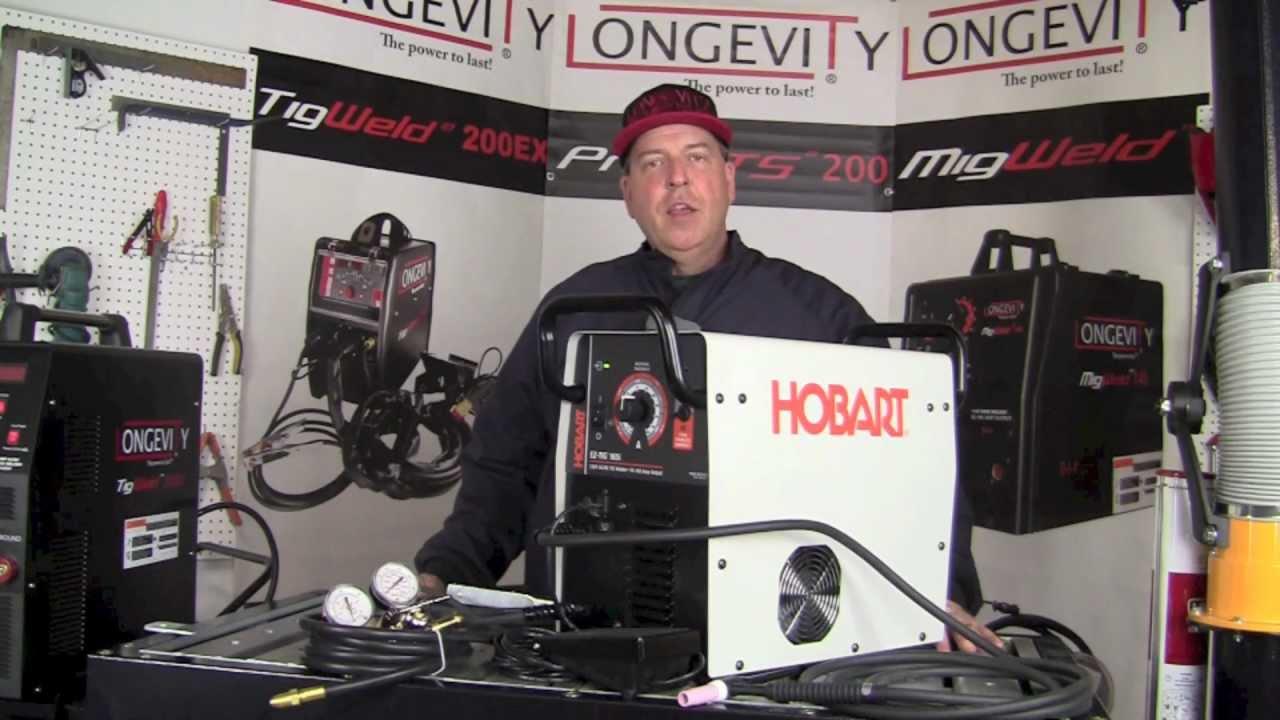 Hobart Tig Welder >> Hobart Ez Tig 165i Acdc Tig Welder Review Part 1 Youtube